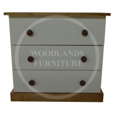 JUNIOR COUNTRY 3 CHEST of DRAWERS